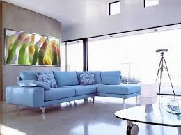 Blue Leather Sofa by Blue Leather Sofa Your Model Home