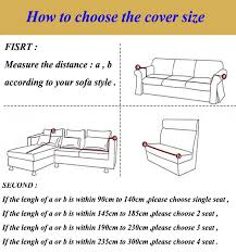 how to measure sofa for slipcover universal elastic cotton knitted sofa covers stretch sofa slipcover
