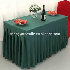 Cloth Table Skirts by Wedding Table Skirting Designs Wedding Table Skirting Designs
