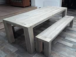 gray dining table with bench lovely grey wash dining table somerefo org