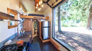Tinyhouse by Tiny House With Rock Climbing Wall Today Com