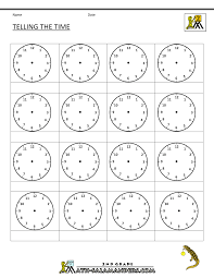 blank clock face worksheet free worksheets library download and