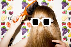 how to get thick hair by eating right and washing it less