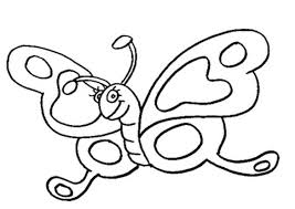 butterfly coloring pages preschool coloring home