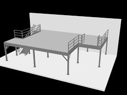 mezzanine 3d modeling services mezzanines by design