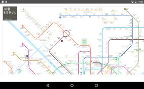 Seoul Subway Map by Seoul Subway 2017 Android Apps On Google Play