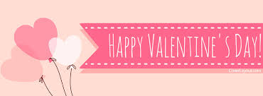 happy valentines day banner happy valentines day hearts and banner cover coverlayout
