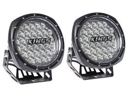 gear supply co light drive adventure kings illuminator 7 round led driving lights pair