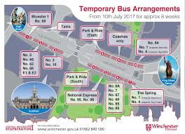 M60 Bus Route Map by Southampton Bus Update Winchester Bus Station Closes For Now