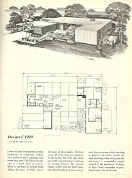 vintage house plans 1960s homes mid century homes mid century