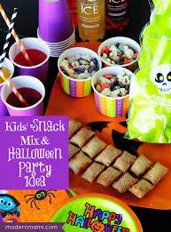 kids u0027 halloween snack mix a spooktacular party snack idea