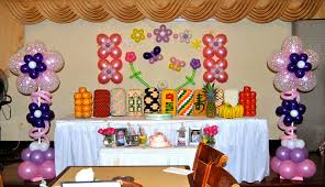Balloon Decoration For Birthday At Home by 1st Birthday Balloon Decorations Party Favors Ideas