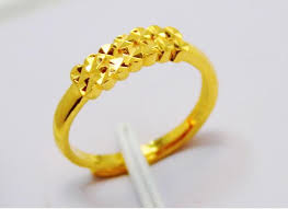 bridal gold ring wholesale bridal wedding jewelry gold finger ring size adjustable