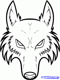 wolf face coloring page how to draw a werewolf face step by step werewolves monsters