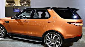 orange land rover discovery land rover discovery 2017 inside look suv review youtube