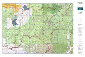 Colorado National Forest Map by Colorado Gmu 71 Map Mytopo