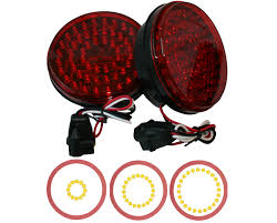 Vintage Ford Truck Tail Lights - truck led lights 2 inch round led lights