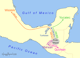 Mexico On Map by File Mayan Language Migration Map Svg Wikimedia Commons