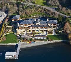 stunning mansion with private beachfront bellevue washington