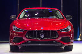 maserati ghibli red 2017 maserati ghibli facelift unveiled refreshed design more power