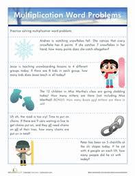 printable multiplication word problems multiplication word problems worksheet education