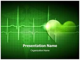 heart design for powerpoint download our professional looking ppt template on heart beat and