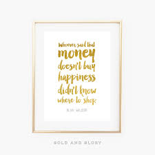 blair waldorf quote gossip quote gold foil print