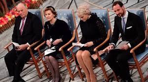 royal family at nobel peace prize award ceremony 2016