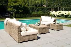 canapé rotin pas cher redoutable salon de jardin en rotin tresse pas cher décoration