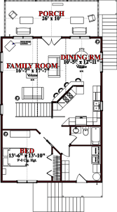 House Plans 2 Bedroom 401 Best Home Floor Plans Images On Pinterest Small House Plans