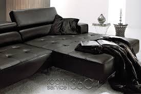 Polaris Sofa Malaga Modern Leather Sectional Sofa Italian Leather Sectional
