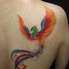 phoenix bird tattoo phoenix back tattoo on tattoochief com