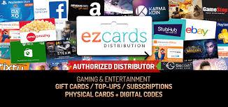 gift card distributors ez