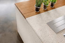 Concrete Kitchen Island by Kitchen Decoration Using Dark Brown Grey Concrete Kitchen Flooring