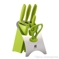 rate kitchen knives six stacked kitchen knife set combination molybdenum vanadium
