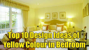top 10 design ideas of yellow colour in bedroom youtube