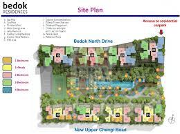 bedok town residences site floor plan
