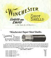 cornell publications llc links to winchester arms catalog reprints