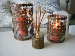 diy penny mosaic decoration ideas youtube