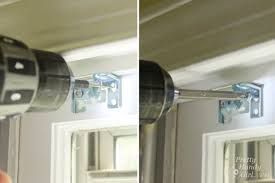 Replacement Brackets For Roller Blinds How To Install Window Blinds And Curtains Lowe U0027s Creator