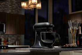black tie stand mixer whip up a storm with kitchenaid s limited edition artisan black tie