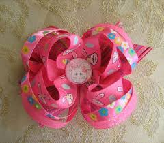 easter hair bows hippity hoppity easter hair bow 6 50 crafts hair