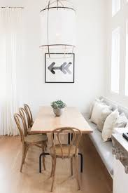 White Wooden Dining Table And Chairs Dining Room Table Bench Seating Stylish Decoration Dining Room