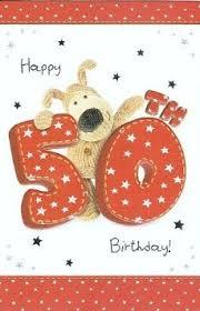 buy age 50 50th birthday card boofle cute 228 x 147mm