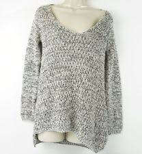zara chunky cable knit cotton blend sweaters for women ebay