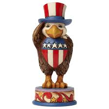jim shore halloween figurines jim shore proud to be an american eagle figurine figurines