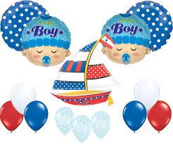 nautical baby shower nautical baby shower balloon decoration kit toys