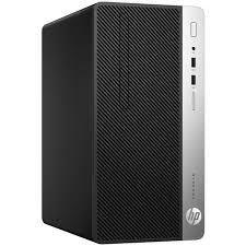 ordinateur hp bureau hp prodesk 400 g4 1ey20et pc de bureau hp sur ldlc com