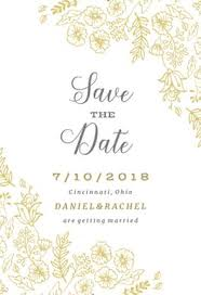 save the date templates flowers free save the date card template greetings island