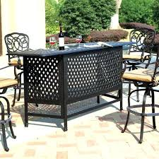 Bar Height Patio Furniture Clearance Unique Bar Patio Furniture And Patio Furniture Bar Set 46 Bar